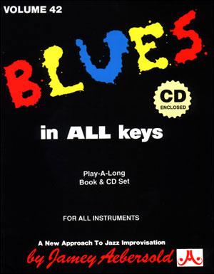 Blues In All Keys Play-A-Long Book & CD Set For All Instruments (CID-JAV42DS)