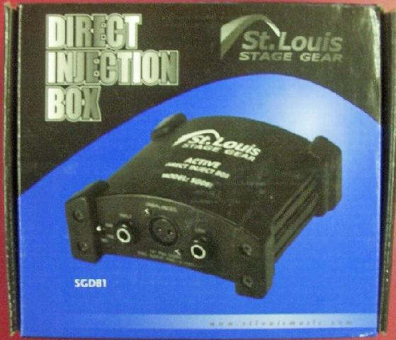 St. Louis Stage Hardware D.I. Box - Active Direct Injection (CID-SGDB1)
