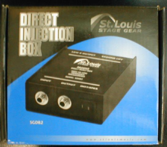 St. Louis Stage Hardware D.I. Box - Passive Direct Injection (CID-SGDB2)