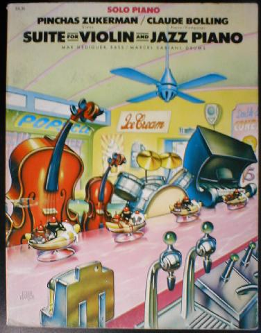 Bolling & Zukerman - Suite for Violin and Jazz Piano - Solo Pian (CID-SIL35)