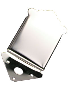 Mandolin Tailpiece - Stainless Steel (CID-SM133)