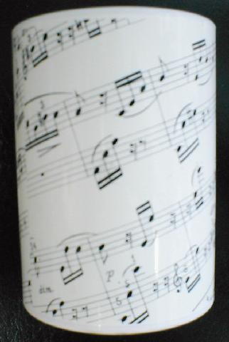 Sheet Music Pencil Cup (CID-SMPC)