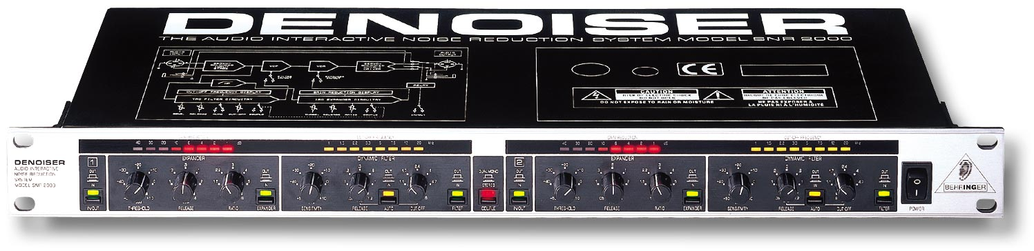 Behringer SNR2000 Multiband Denoiser New In Box - Clearence (CID-SNR2000)