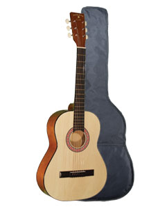 "Indiana Colt Natural 36"" Guitar with Bag (COLT)"
