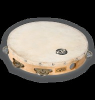 "CP by LP® 10"" Tambourine with Head Single Row (CP379)"