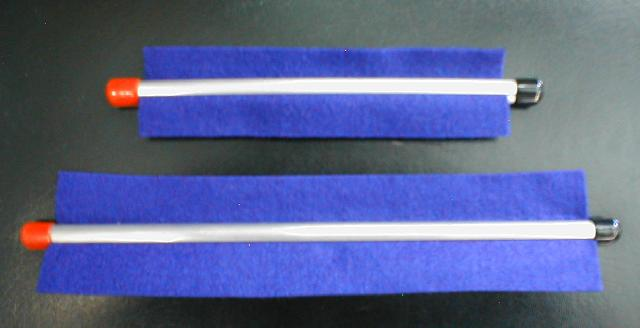 Rainbow Clarinet Cleansweep Swab - Various Colors (CSCL)