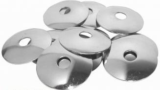 Danmar Curved Metal Cymbal Washers 12 Pack (D514)