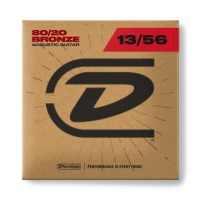 Dunlop 80/20 Bronze Acoustic Gguitar Strings 13 - 56 (DAB1356)