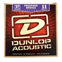 Dunlop Phosphor Bronze Acoustic Strings, Medium Light (DAP1152)