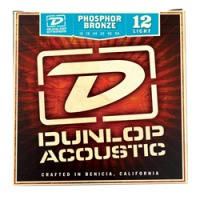 Dunlop Phosphor Bronze Acoustic Strings, Light (DAP1254)