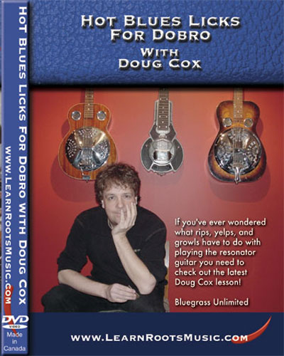 Hot Blues Licks For Dobro  DVD (DCDVD03)