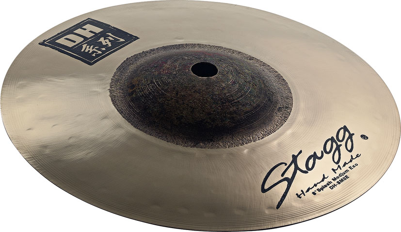 "Stagg 8"" Dual-Hammered Exo Medium Splash Cymbal (DHSM8E)"