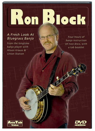Ron Block: A Fresh Look At Bluegrass Banjo  DVD (DRB1)