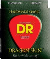 DR DSA-11 DragonSkin Coated Acoustic Custom Lite 11-50 (DSA11)