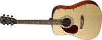 Cort Earth 70 Lefty Dreadnought Guitar - Open Pore (EARTH70LHOP)