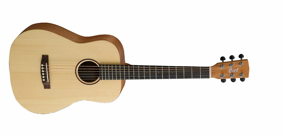 Cort Earth Series Mini Solid Spruce Top Acoustic Guitar w/ Ba (EARTHMINIOP)
