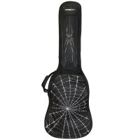 ChromaCast Spider Graphic Three Pocket Electric Guitar Padded Gig Bag (EPBBAGSPIDER)