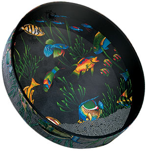 "Remo Ocean Drum 22"" with Fish Graphic (ET022210)"