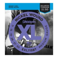 D'Addario EXL115BT Nickel Wound, Balanced Tension Medium, 11-50 (EXL115BT)
