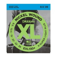 D'Addario EXL130+ Extra Super Light Plus String Set 8.5 – 39 (EXL130PLUS)