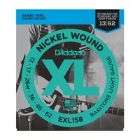 D'addario EXL158 Nickel Wound, Baritone Light, 13-62 (EXL158)