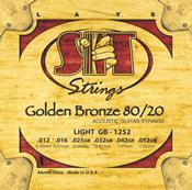 SIT Golden Bronze 80/20 Acoustic 12-String Light 10-46 (GB121046)