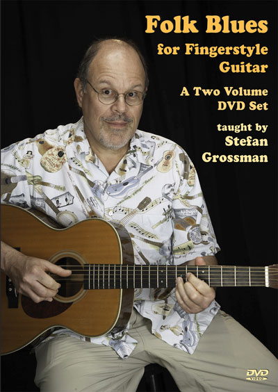 Folk Blues For Fingerstyle Guitar  DVD (GW990SDVD)