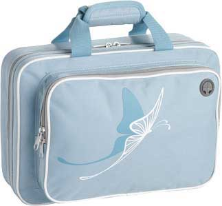 Kaces Grafix Clarinet Case – Blue Butterfly (GXPCLB4)