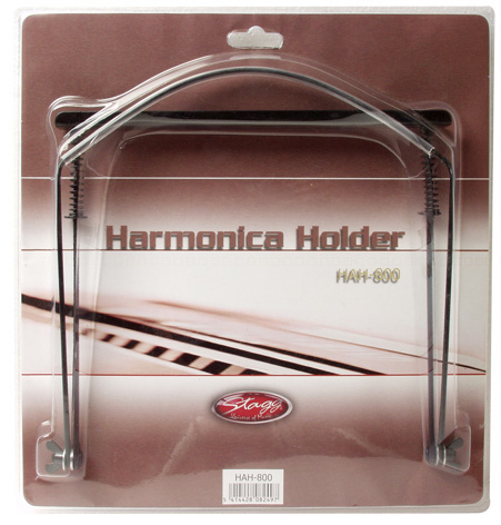 Stagg Harmonica Holder - Black (HAH800)