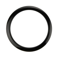 "Bass Drum O's 5"" Black Drum O Hole Protector (HBL5)"