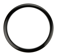 "Bass Drum O's 6"" Black Drum O Hole Protector (HBL6)"