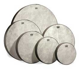 Remo Fiberskyn 3 Pre-Tuned Frame Drums (HD8500)
