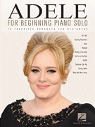 Adele for Beginning Piano Solo (HL00156395)