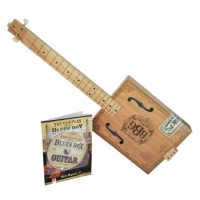 The Electric Blues Box Slide Guitar Kit with Guitar, Instruction Book and DVD (HL00175501)