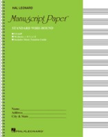 Standard Wirebound Manuscript Paper (Green Cover) (HL00210005)