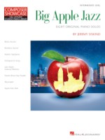 Big Apple Jazz Composer Showcase  Hal Leonard Student Piano Library  Intermediate Level (HL00278209)
