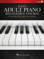 Easy Adult Piano Beginner's Course – Updated Edition A Step-by-Step Learning System (HL00286894)