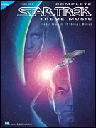 Complete Star Trek® Theme Music Themes from All TV Shows and Movies Piano Solo (HL00313030)