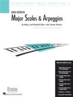 Achievement Skill Sheet No. 3: One-Octave Major Scales & Arpeggios (HL00420024)