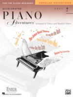 Accelerated Piano Adventures for the Older Beginner Lvl 2 - Popular Repertoire (HL00420254)