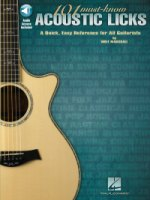 101 Must-Know Acoustic Licks A Quick, Easy Reference for All Guitarists (HL00696045)