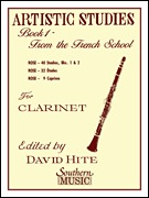 Artistic Studies, Book 1 (French School) For Clarinet (HL03770550)