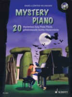Mystery Piano 20 Mysterious Easy Piano Pieces  Book/CD (HL49045895)