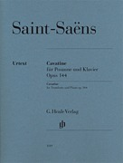 Saint-Saëns - Cavatine, Op. 144 Trombone and Piano (HL51481119)