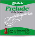 D'Addario Prelude Cello C String - 3/4 Medium Tension (J101434M)