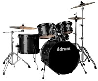 ddrum Journeyman Gen.2 Player 5 Piece Drum Set w/ Hardware - Black Sparkle (J2P522BSP)