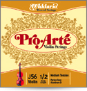 D'Addario Pro-Arte Violin E String - 4/4 Medium Tension (J560144M)
