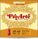D'Addario Pro-Arte Medium Tension Cello String 4/4 Set (J5944M)