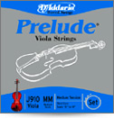 "D'Addario Prelude Medium Tension Viola String Under 13"" Set (J9410XSM)"