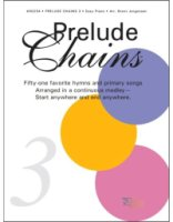Prelude Chains Book 3 for Easy Piano Ar. Brent Jorgensen (JAC00254)